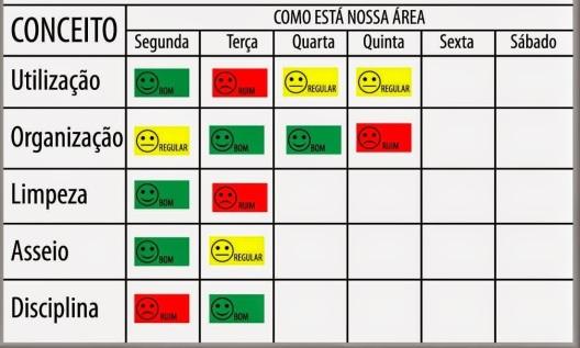 Auditoria 5S controle